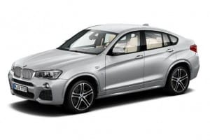 BMW X4 Estate xDrive 20d M Sport Step [New Shape] 5dr Automatic [GL] on flexible vehicle lease