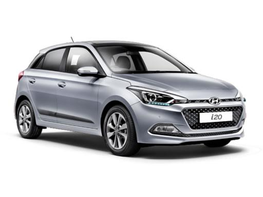 Hyundai i20 Hatchback on 12 month short term lease