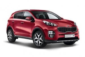 Kia Sportage Estate 1.6 CRDI ISG 4 5dr Manual [LC]