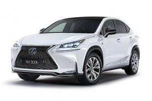 Lexus NX Estate 300h 2.5 Takumi CVT 5dr Automatic [LC]