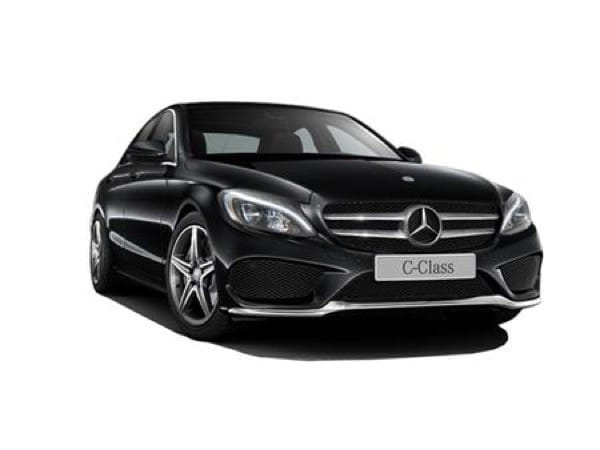 Mercedes-Benz C-Class Saloon on 18 month short term lease