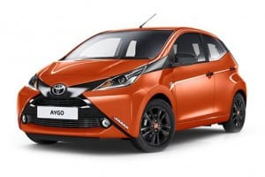 Toyota Aygo Hatchback 1.0 X-Play 5dr Manual