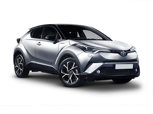 Toyota C-HR Hatchback on 12 month short term lease