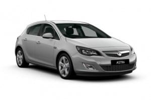 Vauxhall Astra Hatchback 1.6 CDTi 16v Tech Line Nav 5dr Manual on flexible vehicle lease