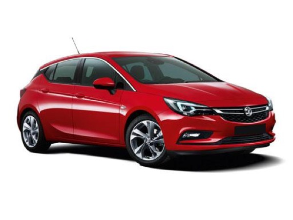 Vauxhall Astra Hatchback on 9 month short term lease